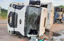Alta Floresta: prefeitura deve gastar R$ 42 mil para recuperar caminhão que tombou
