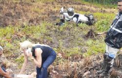 Um morre e dois ficam gravemente feridos após caminhonete capotar na rodovia MT-060
