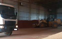 Carga de 155 toneladas de fertilizante desviado é apreendida em fazenda de Ipiranga do Norte