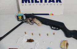 Detido traficante que ameaçava desafetos em Peixoto de Azevedo