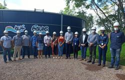 Prefeitura e Águas Colíder inauguram novo Reservatório de Água