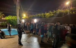 PM dispersa 2,1 mil pessoas e fecha 60 festas clandestinas em MT