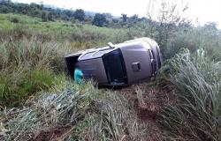 Alta Floresta: Motorista perde controle de caminhonete e tomba após evitar choque na MT-208