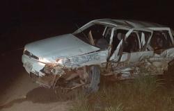Quatro pessoas são socorridas após colisão entre veículos na MT-208