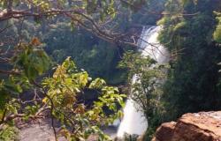 Caminhoneiro desaparece após cair na cachoeira de Curuá em Guarantã do Norte