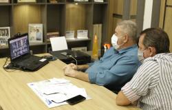 Construção do novo fórum de Alta Floresta foi tema de reunião virtual com a participação da Câmara Municipal