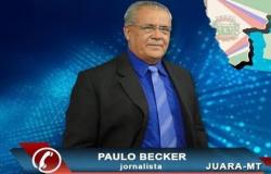 Luto na imprensa: Jornalista Paulo Becker de Juara perde a batalha contra a covid-19