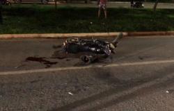 Motociclista na contramão fica gravemente ferido ao colidir com carro em Alta Floresta