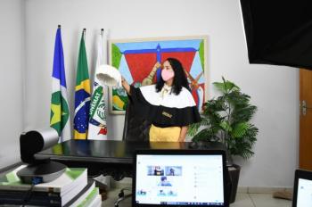 Unemat concede grau a 351 novos profissionais em colação on-line em Alta Floresta mais 10 câmpus