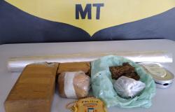 Jovem com várias passagens e envolvido em roubos em Jaciara é preso por tráfico de drogas em Juína