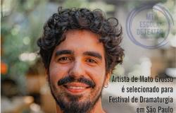 Artista de Mato Grosso é selecionado para Festival de Dramaturgia em São Paulo