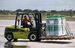 Após articulação do Governo de Mato Grosso, Ministério da Saúde envia 340 cilindros de oxigênio para o Estado