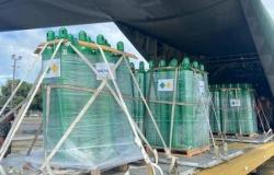 Governo Federal envia cilindros de oxigênio a Mato Grosso após decisão da Justiça Federal