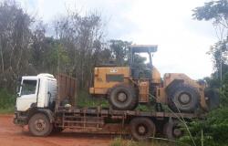 Regional de Sinop apreende veículos e equipamentos durante Operação Arco Verde