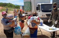 LBV entrega três toneladas de doações a famílias que vivem do lixão em Cuiabá