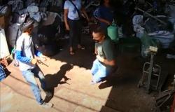 MT – Após anunciar assalto, dupla persegue e atira em empresário; Veja vídeos