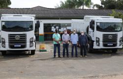 Prefeitura de Alta Floresta adquire dois caminhões novos com recursos devolvidos pela Câmara Municipal