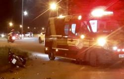 SINOP: Homem morre em batida violenta entre duas motos e outro fica muito ferido