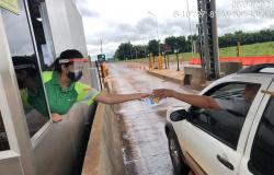 Via Brasil MT: Pedágios das rodovias MT-208 e 320 reforçam prevenção contra o coronavírus