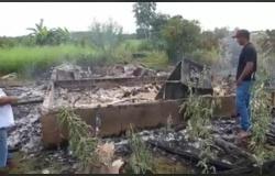 MATUPA: Irmãos morrem carbonizados em incêndio em residência na comunidade Santo Antônio