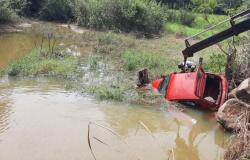 Colíder: Carro é encontrado caído em rio de Colíder; condutor ainda não foi localizado