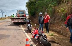 Colíder: Choque entre motocicletas deixa jovem gravemente ferido na MT-320