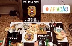 Polícia Civil detém 13 pessoas em operação realizada em Apiacás