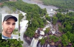 Homem sobe em muro de contenção e se joga de cachoeira em Aripuanã