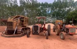 Sema apoia operação Abafa com retirada de maquinário apreendido por Bombeiros em Gaúcha do Norte