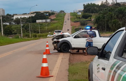 MT - 208: Colisão entre dois carros é registrada em Alta Floresta