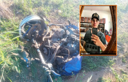 Motociclista morre após bater de frente com caminhonete na MT-206