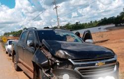 Alta Floresta: Três veículos se envolvem em acidente na MT-208 próximo a IFMT