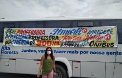 Alta Floresta adquiri micro-ônibus para saúde com R$ 300 mil de emenda da deputada Rosa Neide