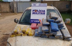 Colniza: Polícia Militar prende homem em posse de 38 tabletes de drogas