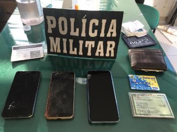 PM descobre que procurado da Justiça é o responsável por vários roubos em Marcelância