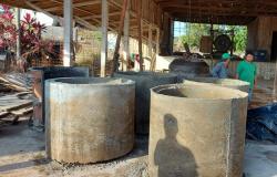 Tuti destaca reativação da fábrica de tubos da Prefeitura de Alta Floresta