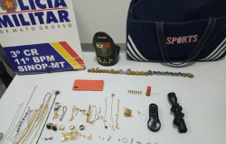 Policiais identificam suspeito de furto por celular esquecido na casa de vítima em Sinop