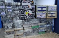 Polícia apreende carga de cocaína no Xingu avaliada em R$ 25 milhões