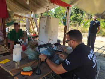 Polícia Civil instala delegacia itinerante e atende moradores de distrito de Aripuanã