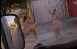 Prostitutas exibem partes íntimas no meio da rua em Sorriso