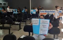 Justiça suspende a audiência pública sobre a militarização da escola Vitória Furlani