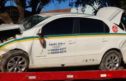 MT-208: Capotamento deixa carro destruído em Alta Floresta