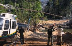 Colniza: Pontes de acesso usadas para desmate ilegal em áreas de preservação são destruídas