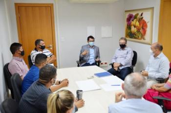 Reitor do IFMT se reúne com prefeito de Paranaíta para tratar sobre a implantação do Centro Vocacional Tecnológico (CVT)
