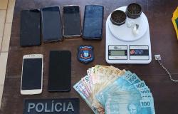 Operação cumpre cinco mandados para desarticular tráfico de drogas em Cláudia