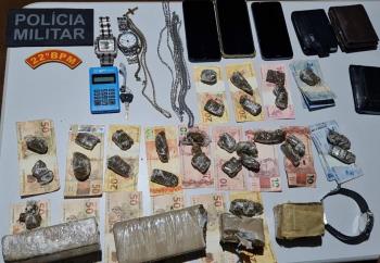 PM intercepta suspeitos com droga dentro de HB20 em Itaúba