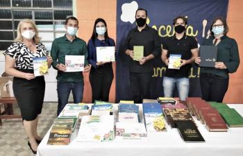 Parceria garante doação de livros para Nova Monte Verde