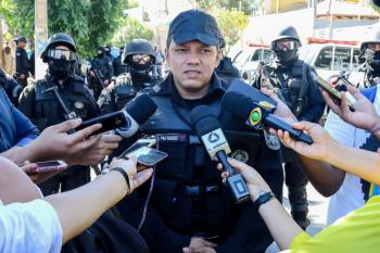 O comandante do Batalhão de Operações Policiais Especiais (Bope), tenente-coronel Ronaldo Roque
