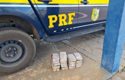 PRF em Itaúba encontra cocaína em meio a lataria de veículo