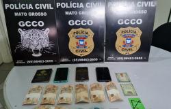 Polícia Civil prende suspeitos de receberem transferências bancárias de vítima de roubo em Guarantã do Norte